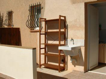 poste d'eau sur terrasse