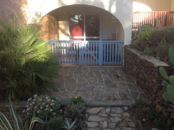 Terrasse solarium et terrasse abritée