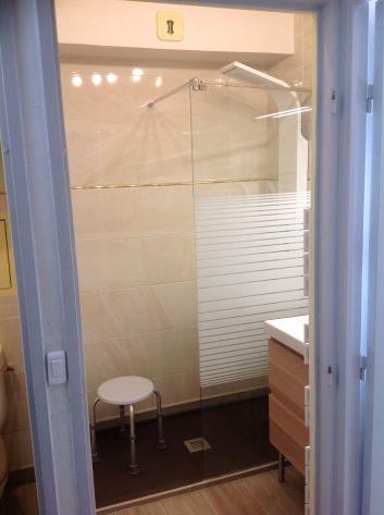 Douche à l'italienne avec jets de massage-SALLE DE BAIN