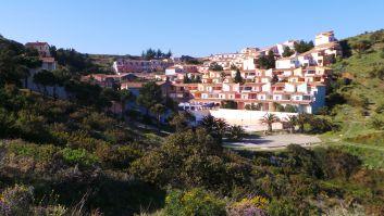 Village vue panoramique