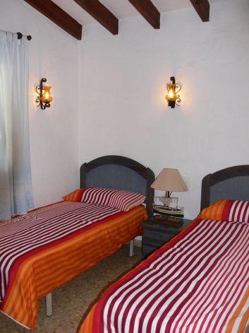 chambre 2 lits individuels