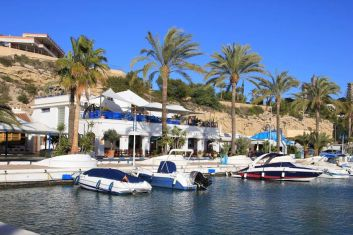 le club house du port de Moraira