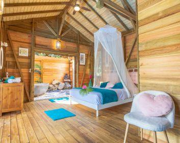 bungalow de charme au jardin des colibris