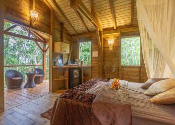 Chambre cosy Deshaies Guadeloupe