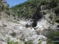 Les gorges de la Beaume près du camping